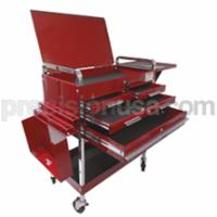 Service Cart Deluxe 350 Capacity 350 lb Capacity Red