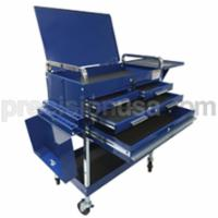 Service Cart Deluxe 350 Capacity 350 lb Capacity Blue