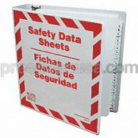 GHS Safety SDS Binder Includes A-Z Dividers English / Spanish